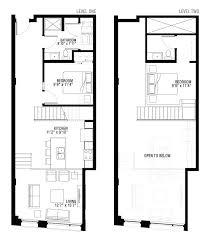 2 bedroom loft apartment floor plans