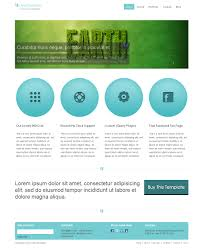 clean business html css template the demo the template