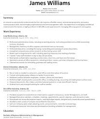 Executive Assistant Resume Sample Resumelift Com