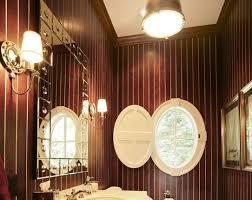 teak powder room by martin bros contracting inc 101