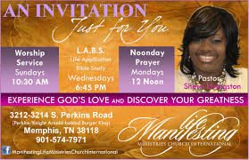 church invitation flyer info our work protouch printing and more