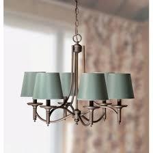 laura ashley sbc306 hjf862 josephine 6 light chandelier gold laced cafe sage raw silk