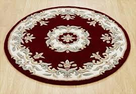 regal red circle rugs