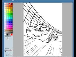 Small Picture Disney Cars Painting Games Disney Cars Coloring Pages YouTube