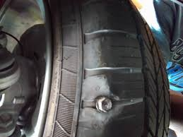 then i looked for and found the culprit see picture the question is can this be fixed my guess is probably not since it s so close to the sidewall