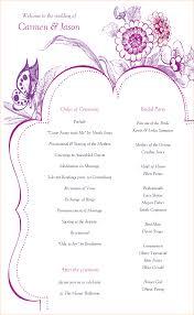 How To Design Wedding Program Template 24 wedding program template free Outline Templates 1