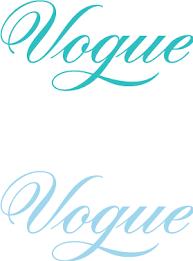 Vogue logos Free Vector / 4Vector