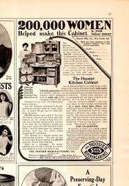 Hoosier Kitchen Cabinet 1908 Hoosier Kitchen Cabinet Ad 200000 Women Whats It Worth