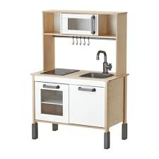ikea kids children wooden kitchen pretend play set cooking learning toy role
