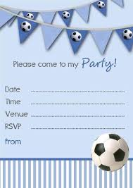 Soccer Party Invitation Template Free Printable Soccer Birthday Party Invitations