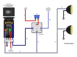 driving fog light wiring diagram free download wiring diagrams how to wire driving lights using a relay at Fog Light Relay Wiring Diagram