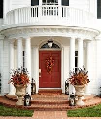 front door decor summerContemporary A Wood Front Door Ways To Decorate Your Front Porch