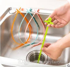 pipe dredge kitchen sewer tub hair clean tool drain cleaner household sink cleaning removal anti clogging tools 696 floor waste shower drain drain hair