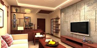 cozy living room with tv. Living Room:Modern Asian Room With Wall Panels And Hanging Tv Set Above Long Cozy
