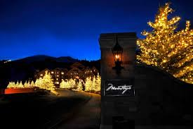 mountain states lighting utah. commercial christmas lights montage resort in park city, mountain states lighting utah o