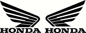 black honda wing logo. black honda wing logo