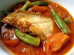 assam pedas fish pomfret