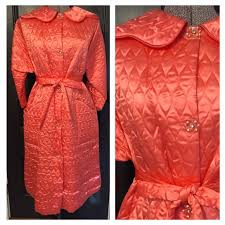 Vintage - Vintage 1950's Pink Quilted Satin Robe from Love you ... & Vintage 1950's Pink Quilted Satin Robe Adamdwight.com