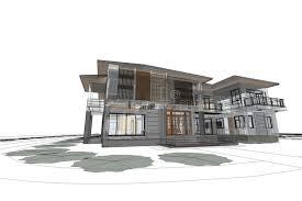 modern home architecture sketches. Interesting Modern Modern Home Architecture Sketches Download Architecture Drawing Modern  House 3d Illustration Stock  Of Architect And Home Sketches I