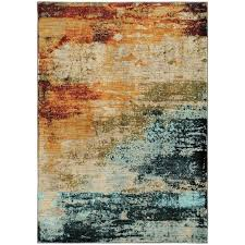 t austin design haugan abstract blue red area rug reviews blue and red rug red blue