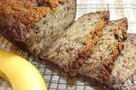 unbelievably moist banana bread forks