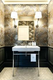 wallpaper for powder room a very blah transforms into jewel box laurel home  wallpapers . wallpaper for powder room ...