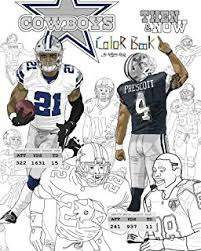Small Picture Dallas Cowboys Coloring Activity Storybook Brad M Epstein
