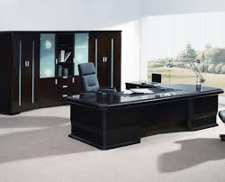 office table with glass top inspiring executive office desk with return table glass top crowdbuild