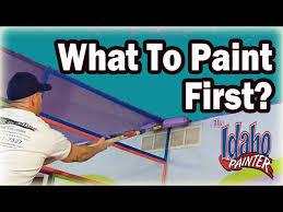 diy painting ceiling walls or trim