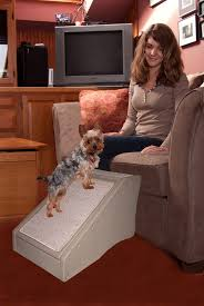image of dog ramp for stairs indoor