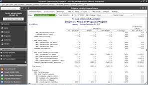 sample balance sheet for non profit nonprofit accounting software quickbooks enterprise industry