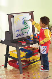 image for kids art table with storage
