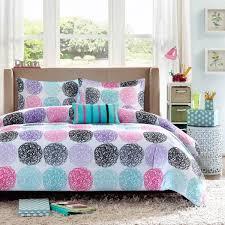 mizone carly purple bed linens
