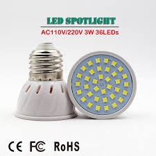 China High Quality 36LEDs <b>E27</b> E14 M16 <b>GU10 LED</b> Cup <b>Lamp</b> 3W ...