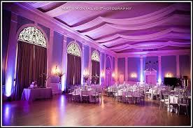 beautiful wedding reception lighting