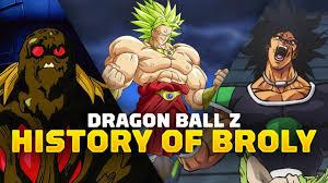 <b>Dragon Ball Z</b> - The History of <b>Broly</b> - YouTube