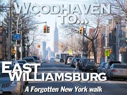 woodhaven queens to east williamsburg brooklyn