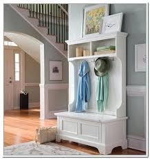 Hall Storage Bench And Coat Rack Narrow Entryway Storage Entryway Storage Bench With Coat Rack Be 86