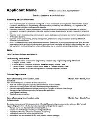 aix system administrator sample resume windows system - Aix Resume