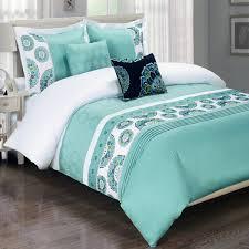 bedroom single bed comforter set twin bedding navy blue and turquoise bedding turquoise blue