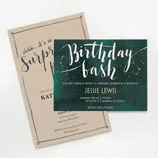 Personal Invitations Birthday Custom Birthday Invitations Personalized Party Favors Vistaprint
