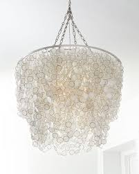 bernadette 3light capiz chandelier capiz lighting d49 capiz