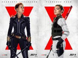 Brand-New Posters Arrive for 'Black Widow'