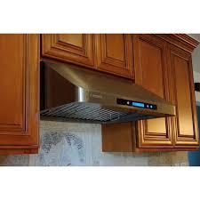 xtremeair 30 inch under cabinet stainless steel range hood px11 u36 cfm 900