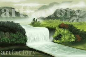 feng shui paintings for office. how can a waterfall painting change the vaastu of your homeoffice water element in vastu u0026 feng shui paintings for office h