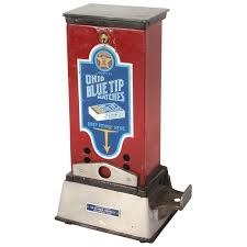 Vending Machines For Sale Columbus Ohio Custom Coinoperated Match Machine For Ohio Blue Tip Matches Mfgd By