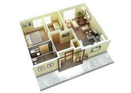 3 Bedroom Home Design Plans Awesome Ideas
