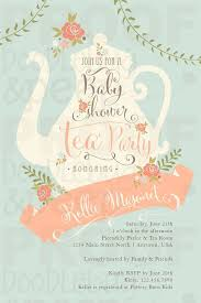 Kids Tea Party Invitation Wording Baby Shower Menu Guide And Food Ideas Baby Showers Tea Party