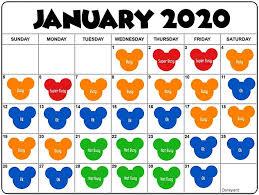 Disneyland Attendance Chart Crowd Calendar The Mommy