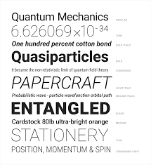 Standard Font Size And Style For Resume Typography Materialize